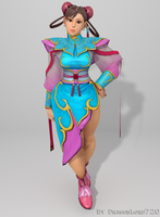 Chun Li Render 01 by DragonLord720