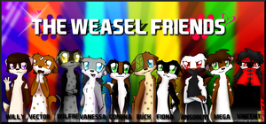 The Weasel Friends by VanessaGiratina