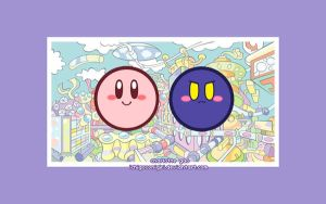 Kirby + Meta Knight Wallpaper by ichigoXonigiri