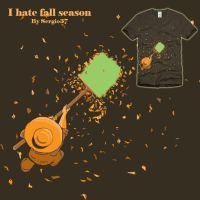 I hate fall season by Sergio37