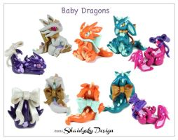 Easter Baby Dragons by ShaidySkyDesign