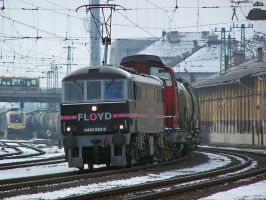 Class 86 in Gyor w. freight by morpheus880223