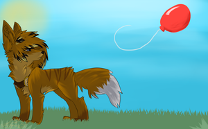 99 Red Balloons by Woods-Of-Lynn