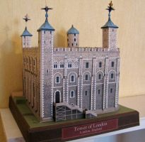 Tower of London Papercraft by x0xChelseax0x