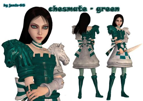 alice chesmate - green by jomic-95