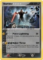 Starkiller Pokemon Card by Lukum