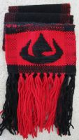 Fire Nation Scarf -- Alt. View by ashesonfire