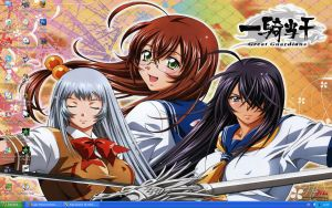 Wallpaper Ikkitousen GG by Lady-Poison-Dreams