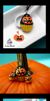 Jack O Lanterns Cupcakes by TwineBirds