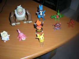 Pokemon Figurines Collection 3 by shiny-latios01