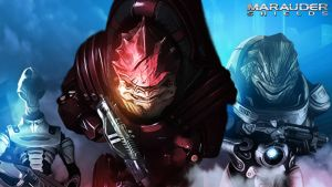 Charge Wrex Grunt and Kirrahe wallpaper 1920x 1080 by MoriasDepths