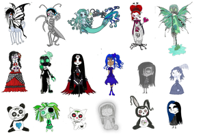 Little Horrors Mixed point adopts Batch 1 OPEN by ScorpionsKissx