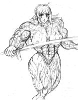 Muscle Saber by S20K00Y