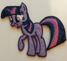 Twilight is happy about things by EthePony