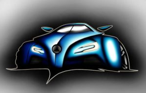 Mercedes-Benz Gullwing by Ghost21501