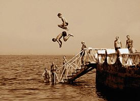 Jump into the summer by Nile-Paparazzi