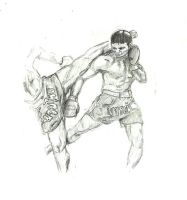 Muay Thai - Counter by masaya