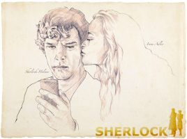 Sherlock and Irene by 403shiomi