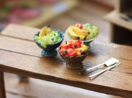 Miniature Fruit Bowls by PetitPlat