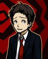P4 Adachi: Who, me? by WafflesMcCoy