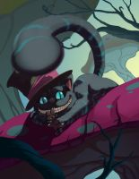 Cheshire Cat by HeribertoHernandez
