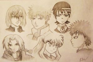 anime collage by TheEpicHorcruxHunter