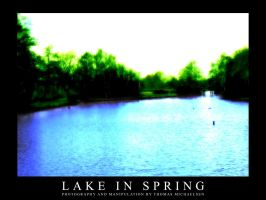 Lake in Spring by umaniac