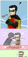 Smile, Damian. by mlle-annette