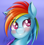 Rainbow Dash by RainDashDragon