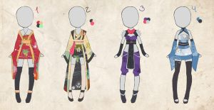 $2 Oriental Outfit Adopt  (closed) by chaotiqueadopts