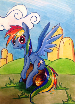 Is There A Pot Of Gold At The End Of Rainbow? by kiriALL