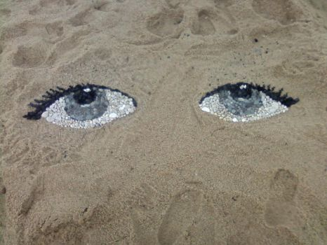 The Sand has Eyes by Chestnut-chan