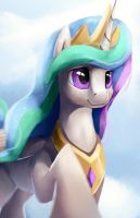 Princess Celestia + Speedpaint by Camyllea