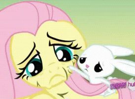 Fluttershy and Angel animation by Fluttershy626