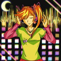 .: Young Athena Cykes- Surging Soundwaves :. by Monstrocker