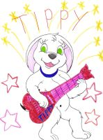 Rock On Tippy by PuffyDearlySmith