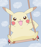 Pikachu:Colored by kawaiipikachu12