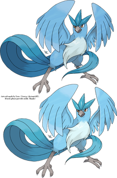 Articuno v.2 by Xous54