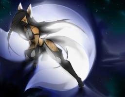 WHITE MOON FOX by WhiteFox89