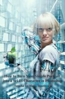 Cyber Eve Photoshop tutorial by MariaSemelevich