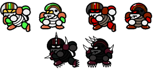 Koopa Football Players by TheSpiderManager