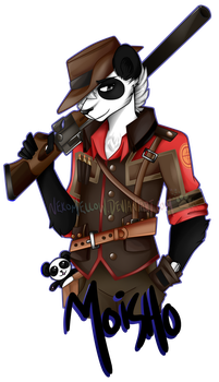 Paypal Commission - Sniper Moisho by NekoMellow