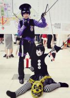 Purple Guy , Japan expo 2015 - Cosplay 2 by AlicexLiddell