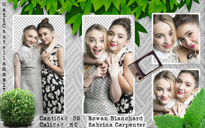 Photopack Png Rowan Blanchard And Sabrina Carpente by MatiCastellanos17