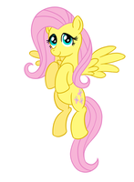 Fluttershy 2.0 by AleximusPrime