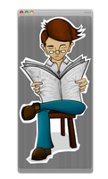 Mr. Serious by binichs