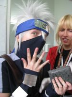 Kakashi is not behaving... by ToraCosplayers