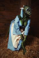 The Lusty Argonian Maid by elenasamko