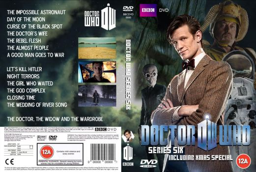 Doctor Who Series 6 DVD Cover (Custom) by OliverGeary