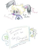 Character Drawcember antagonist to Protagonist  by Kittychan2005